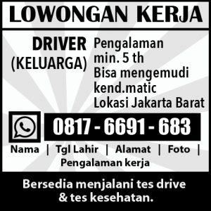 Iklan Lowongan Kerja