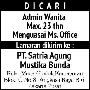 Admin Wanita