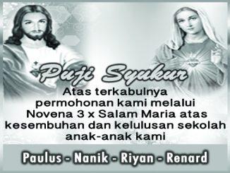 Ucapan Syukur Paulus