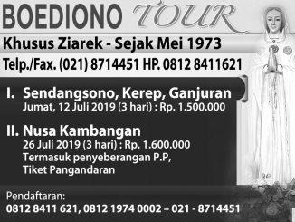 Boediono Tour