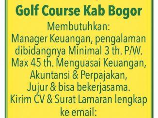 Lowongan Golf course